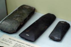 Ancient implements in Bali Museum
