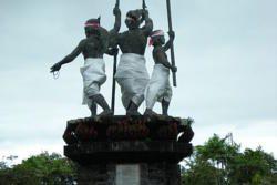 The Puputan Monument in Denpasar
