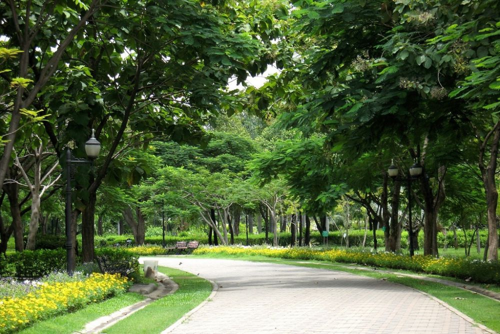 Queen Sirikit Park by Philip Roeland