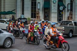 Soi Motorbike taxis Bangkok