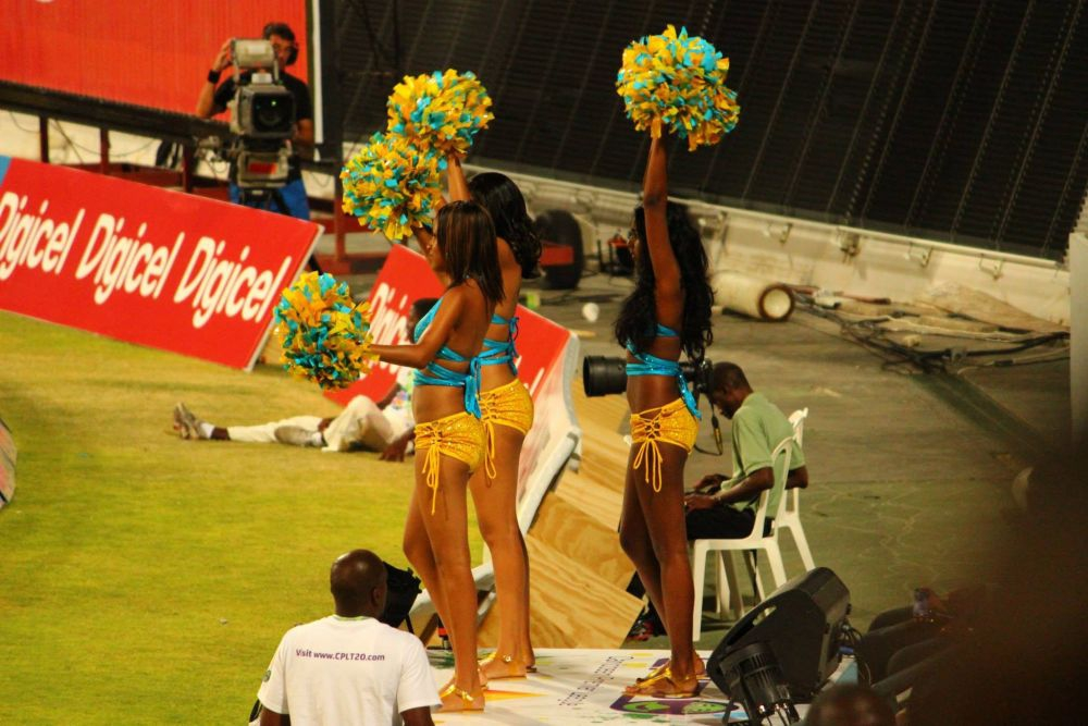 Bajan Cheerleaders
