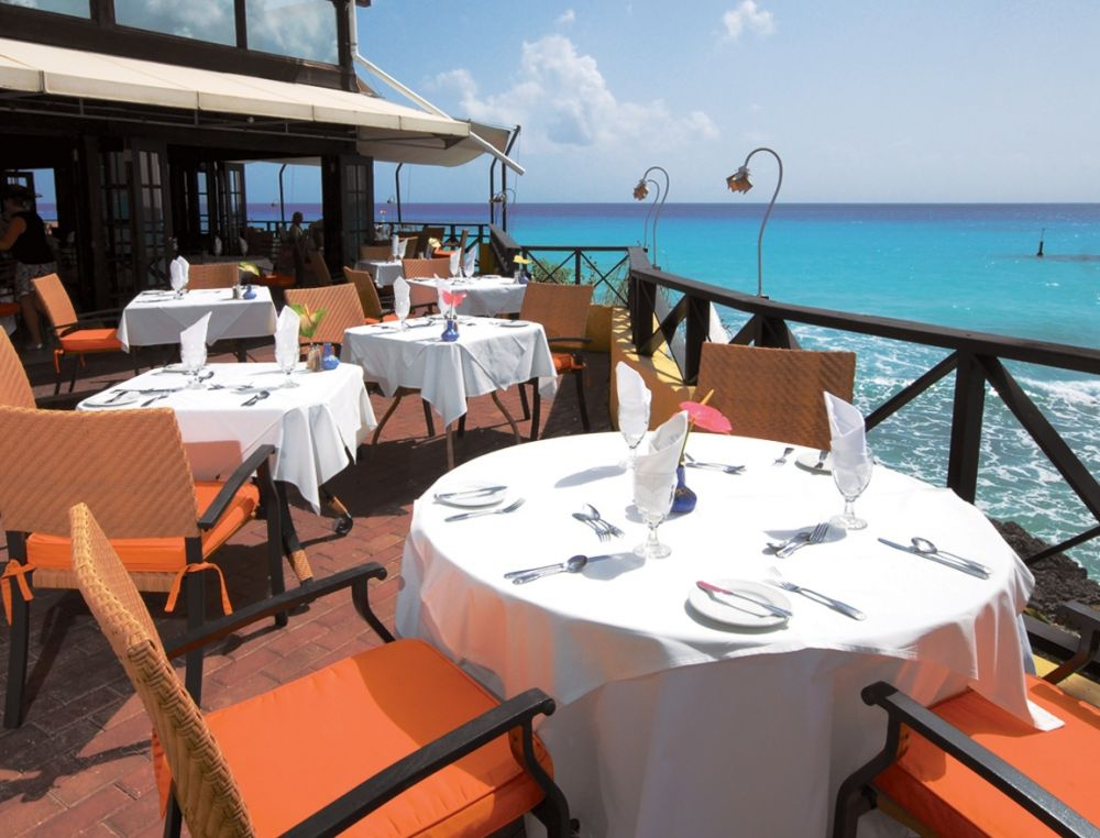 Champers on the south coast offers a wonderful view, delicious local seafood, a superb view and some of the best service on the island