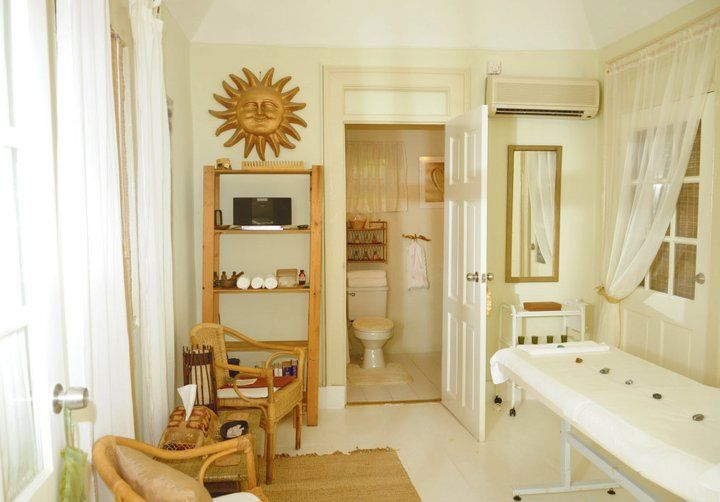 One of the beautiful treatment rooms at the Merkaba