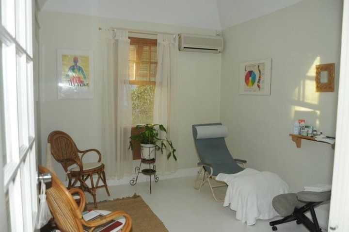 The treatment room where reflexology is practised