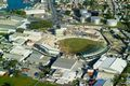 Aerial view of Kensington Oval during reconstruction
