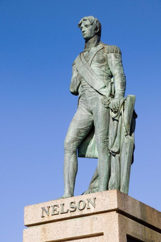 The bronze statue of Lord Nelson was erected in Bridgetown in 1813, it predates the Nelson Column London