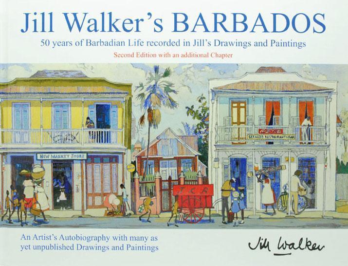 Jill Walker's Barbados illustrated book