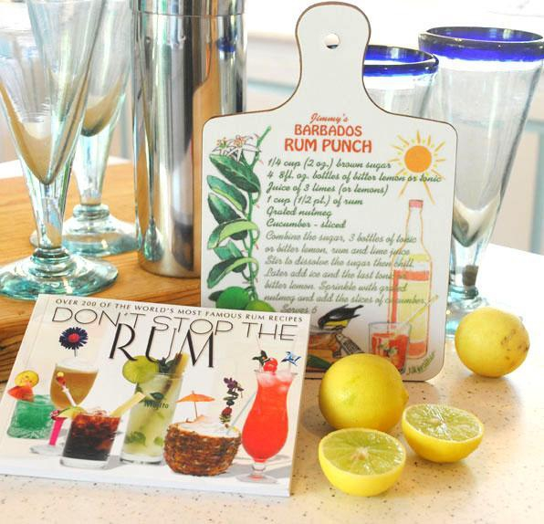 All you need to make a scrumptious rum mixer