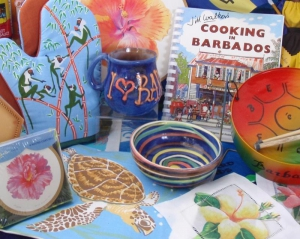 An extensive souvenir and gift range