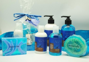 Handmade soaps and body care items