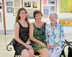 The 3 Generations! Holly Trew, Sue Trew and Jill Walker