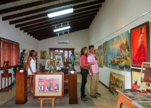 The Frangipani Art Gallery