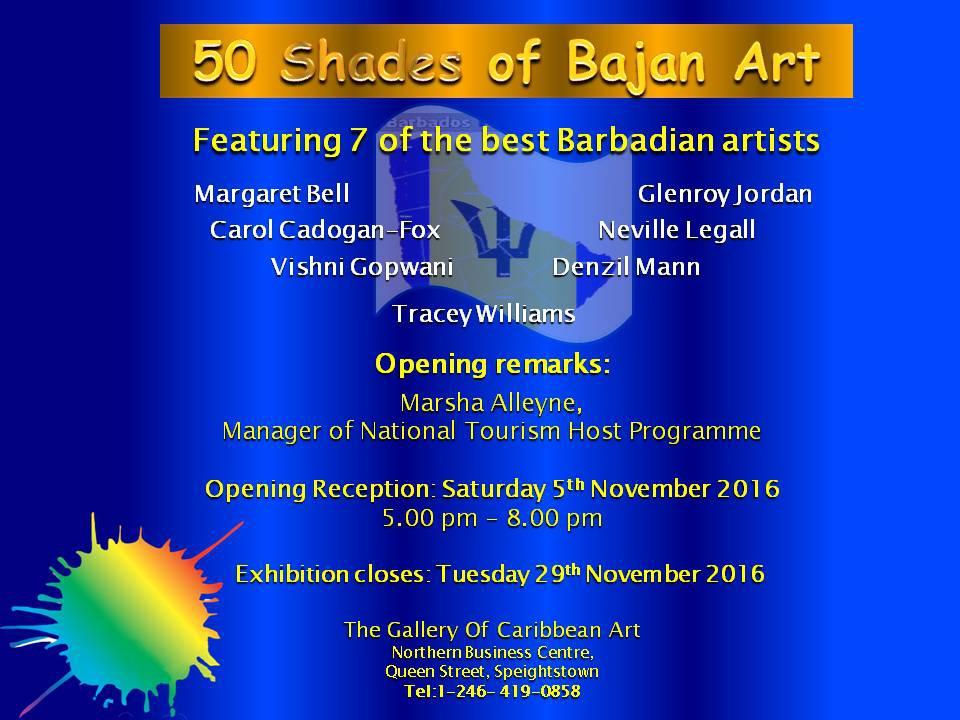 '50 Shades of Bajan Art' Exhibition
