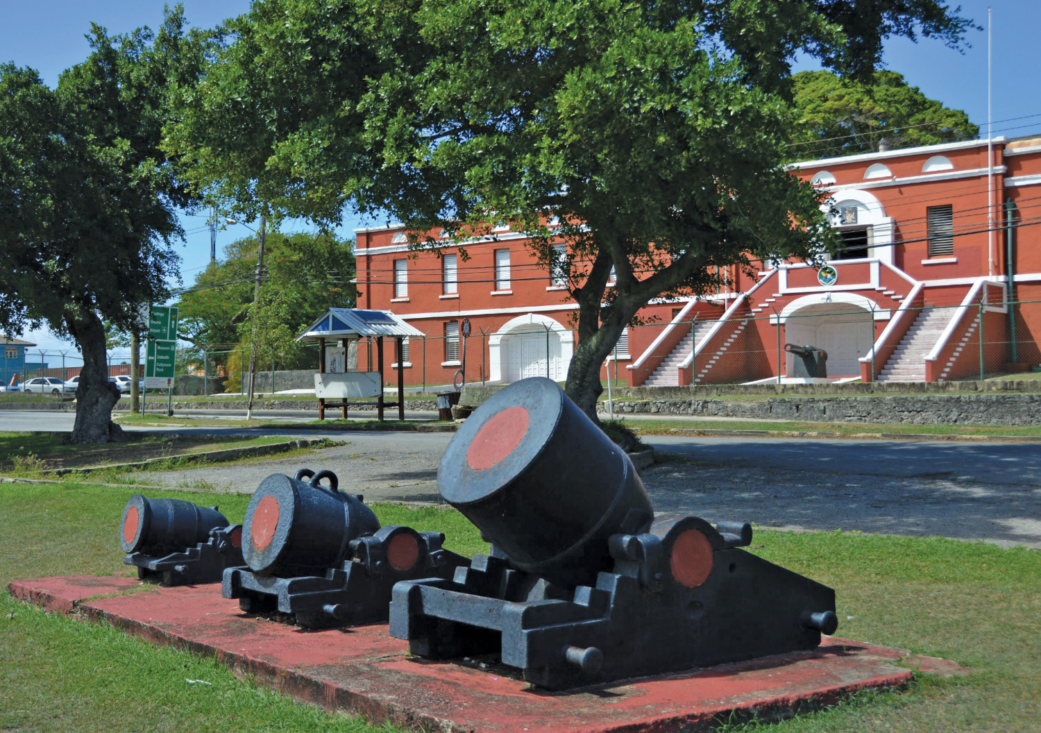 BNT Open House Programme 2017 - St. Ann's Fort, National Armoury and Drill Hall, The Garrison, St. Michael