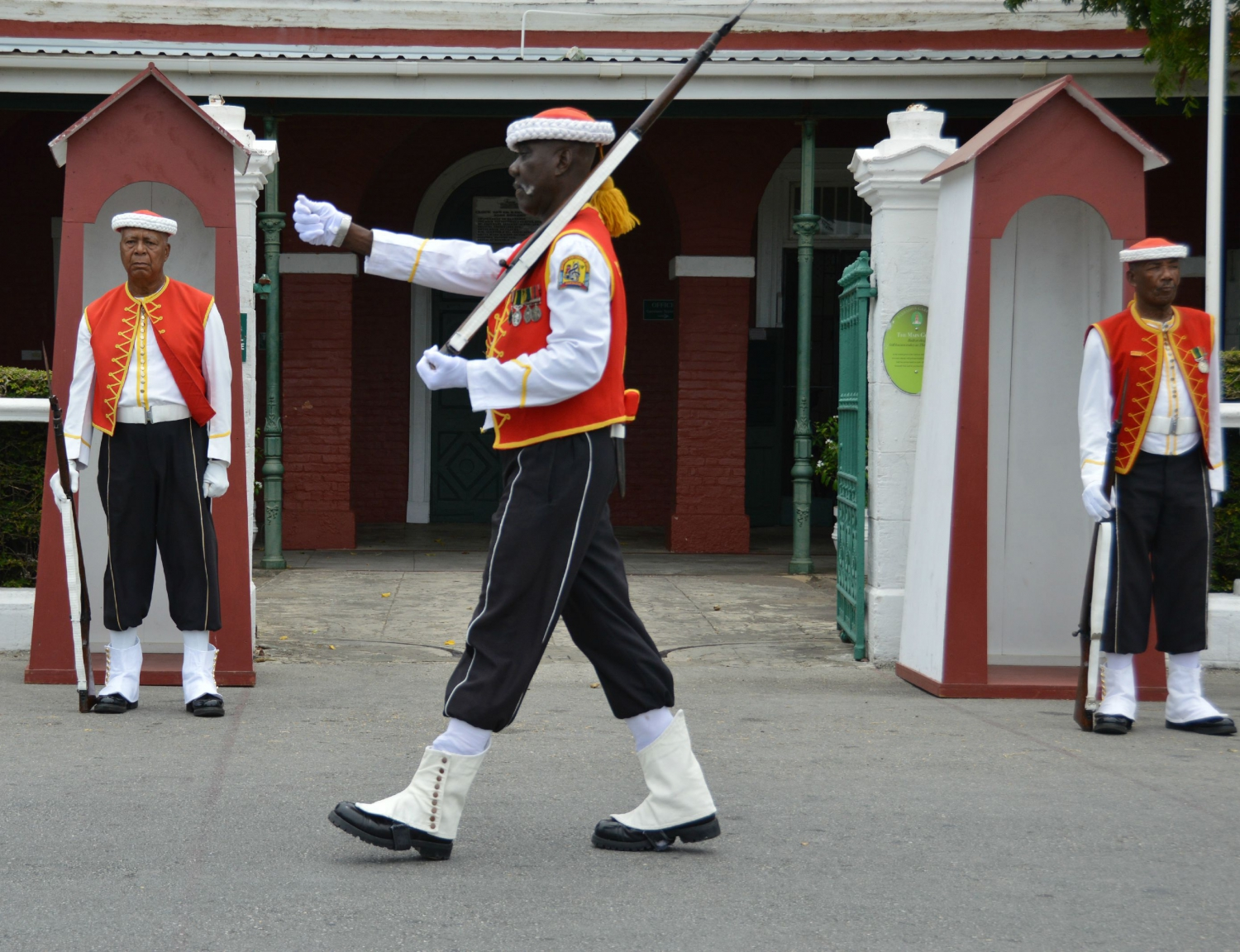 Changing of the Sentry at the Garrison Main Guard