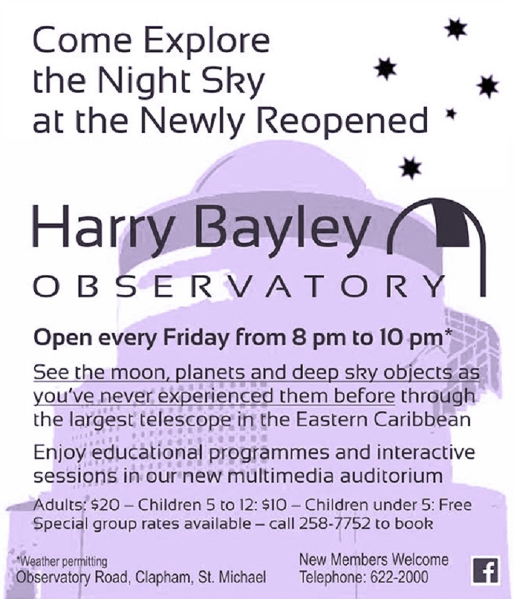 Explore the Night Sky at the Harry Bayley Observatory