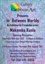 Gallery of Caribbean Art Exhibition - In Between Worlds