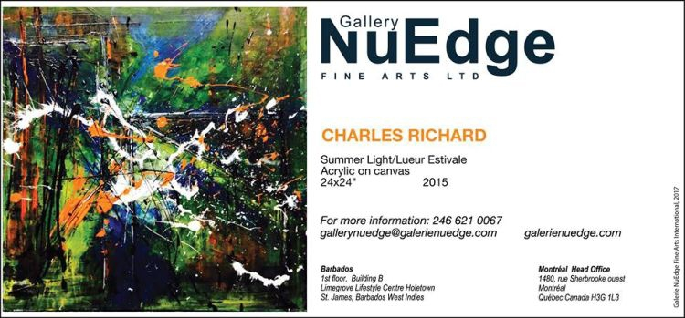 Gallery NuEdge Exhibition - Charles Richard