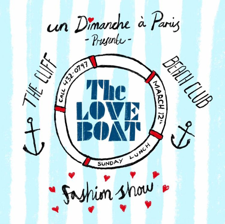 The Love Boat Fashion Show & Sunday Lunch at The Cliff Beach Club