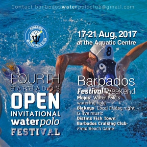 4th Annual Barbados Open Invitational Water Polo Tournament 2017