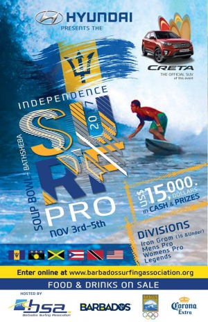 Barbados Independence Surf Festival 2017
