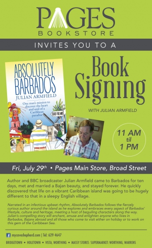 Book Signing with Author Julian Armfield