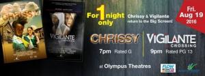 Chrissy and Vigilante Return for One Night!