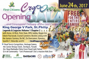 Crop Over Opening Gala & Ceremonial Delivery of the Last Canes