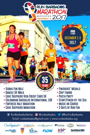 Run Barbados Marathon Weekend 2017