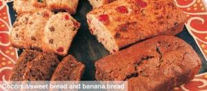 Coconut Bread and Banana Bread