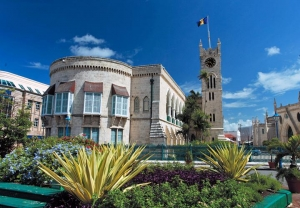 Parliament buildings, Bridgetown
