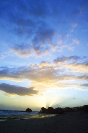 Sunrise in Barbados