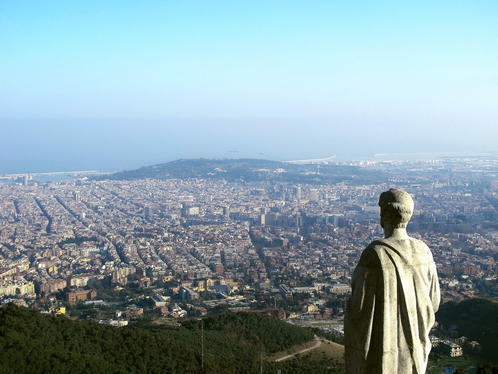 View from Mount Tibidabo