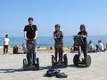 Segwaying in Barcelona