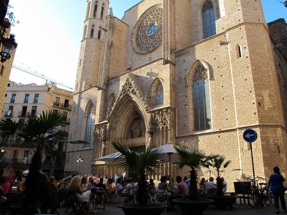 Barcelona Churches - Santa Maria del Mar