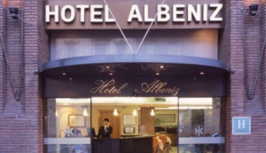 Barcelona Hotel Catalonia Albeniz