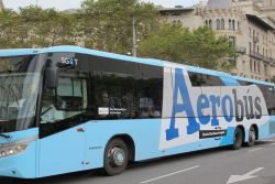 Barcelona Airport: AEROBÚS: Transfer Bus between Airport and Plaça Catalunya