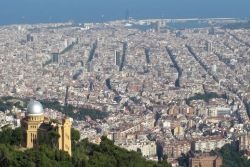 Barcelona City - Tibidabo Mountain