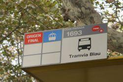 Barcelona Tramvia Blau