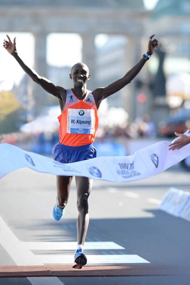 Winner 2013 W. Kipsang