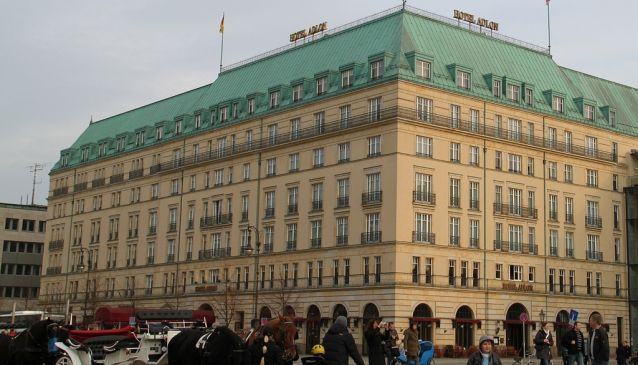 Staying at Hotel Adlon