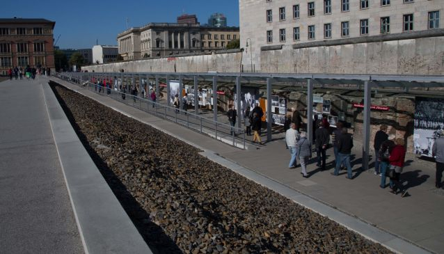 2. Topography of Terror memorial.