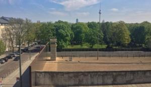 Berliner Mauer Gedenkstätte -The Berlin Wall memorial site.