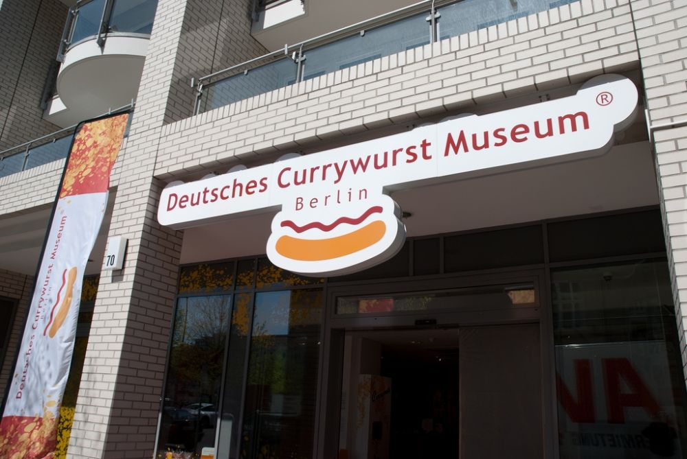 The German Currywurst Museum in Berlin