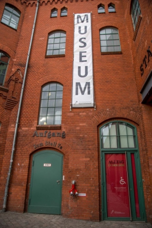 You can't miss the entrance to this Museum!