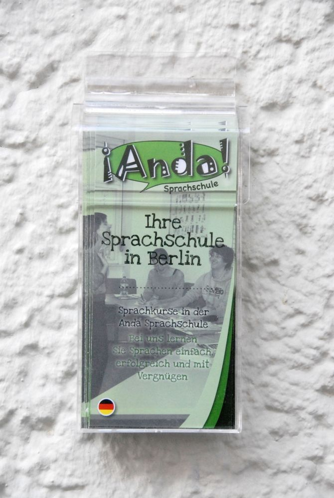 What are you waiting for - go and learn German at Anda!