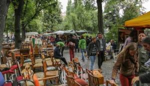 Boxhagener Platz Flohmarkt