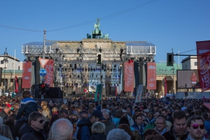 Festival time at the Brandenburger Tor