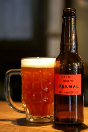 Caramac - one of Das Gift's delicious house beers
