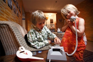 The interactive museum is also great for kids ©DDR Museum